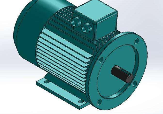 三相盘式制动异步电动机
